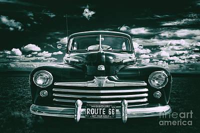 Antique Automobiles Photograph - Get Your Kicks by Mark Miller