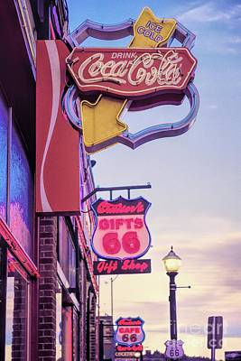 Photograph - Get Your Kicks On Route 66 by Jon Burch Photography