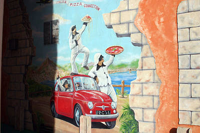 Photograph - Get Your Pizza Here by Jez C Self