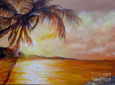 Art Print featuring the painting Getaway by Saundra Johnson
