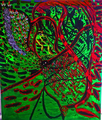 Painting - Gethsemane Reborn by Gloria Ssali