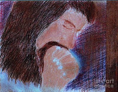 Art Print featuring the painting Gethsemane by Richard W Linford