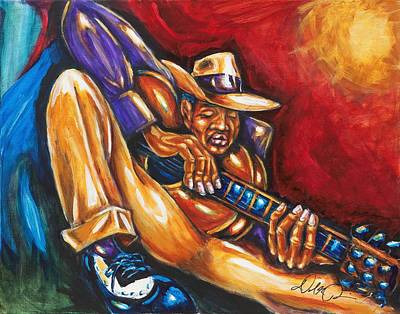 Painting - Gettin' Down by Daryl Price