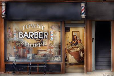 Photograph - Getting  A Hair Cut  by Mike Savad