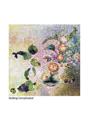 Painting - Getting Complicated by Betsy Derrick