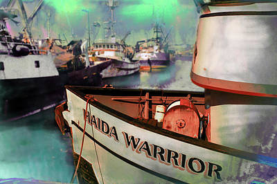 Digital Art - Getting Ready For Alaska Fishing by Jeff Burgess