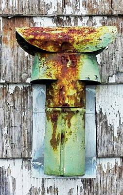 Photograph - Getting Rusty Metal Pipe by Patricia Greer