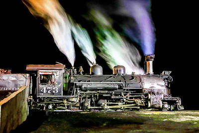 Photograph - Getting Up Steam by Tom and Pat Cory