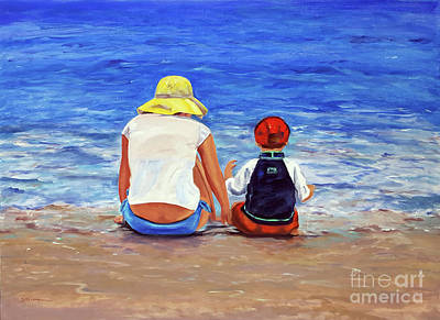 Painting - Getting Your Feet Wet by Shelley Koopmann
