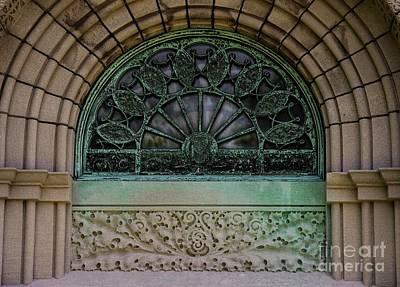 Photograph - Getty Tomb Side Window by David Bearden