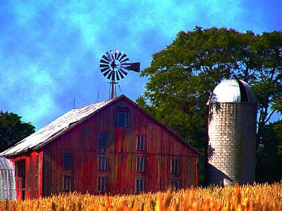 Pennsylvania Dutch Photograph - Gettysburg Barn by Bill Cannon