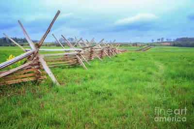 Photograph - Gettysburg Battlefield by Elizabeth Dow