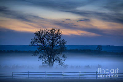Fieldstone Photograph - Gettysburg Blues by John Greim
