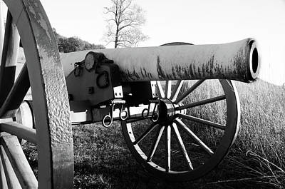 Photograph - Gettysburg Cannon by Gary Wightman