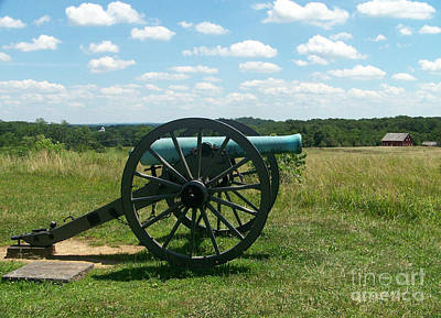 Photograph - Gettysburg Cannon by Kevin Croitz