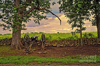 Artillery Digital Art - Gettysburg Cannon by Madeline Ellis