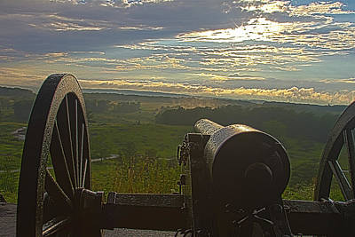 Photograph - Gettysburg Canon by Daniel Houghton