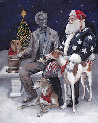 Painting - Gettysburg Christmas by Charlotte Yealey