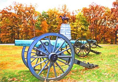 Photograph - Gettysburg Colors by Alice Gipson