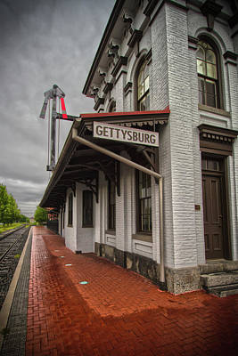Photograph - Gettysburg Depot by Daniel Houghton