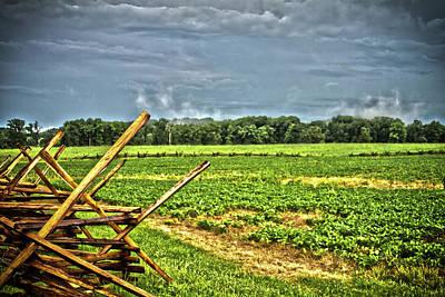 Photograph - Gettysburg Field by Daniel Houghton