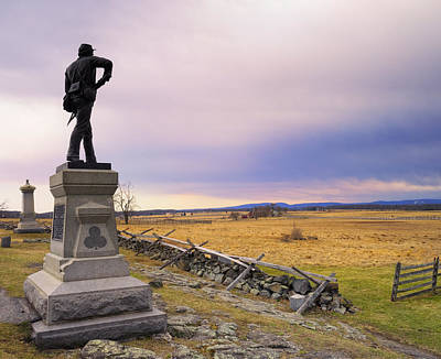 Photograph - Gettysburg Monument I by Marianne Campolongo