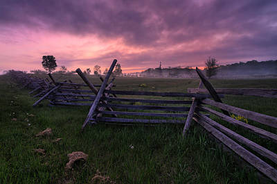 Photograph - Gettysburg Mornings... by Craig Szymanski