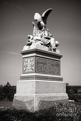 Gettysburg National Park 88th Pennsylvania Infantry Monument Art Print by Olivier Le Queinec