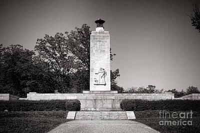Gettysburg National Park Eternal Light Peace Monument Art Print by Olivier Le Queinec