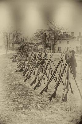 Digital Art - Gettysburg Surrender by John Haldane