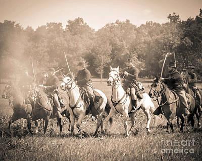 Gettysburg  Union Cavalry 7901s  Art Print