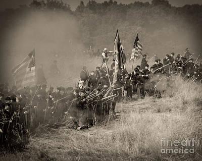 Gettysburg Union Infantry 8947s Art Print