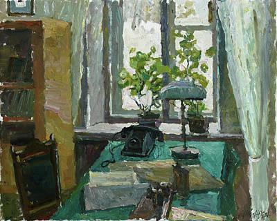 Painting - Geychenko's Cabinet by Juliya Zhukova
