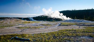Photograph - Geyser Steam by Crystal Wightman