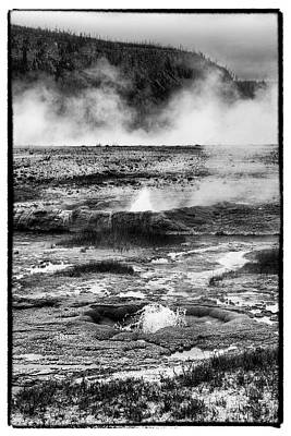 Photograph - Geysers Of Yellowstone by Hugh Smith