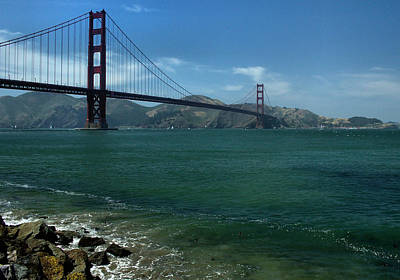 Photograph - Gg Crissy Field 2 by Michael Gordon