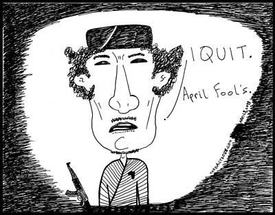 Ghadafi Out Original