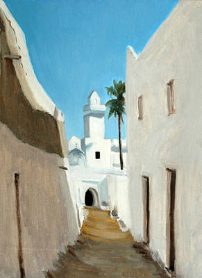 Painting - Ghadames by Gordon Bell