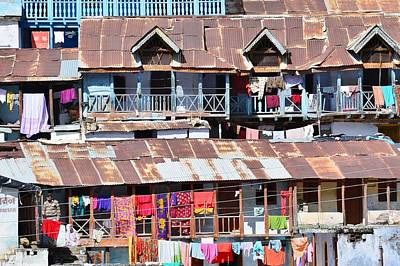 Photograph - Gharwali Village At Badrinath by Kim Bemis