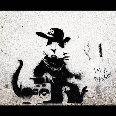 Famous Stencils Photograph - Ghetto Fabulous by A Rey
