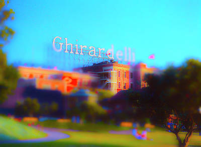 Photograph - Ghiradelli Square by Jan W Faul