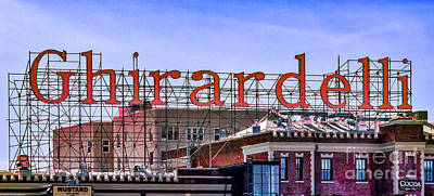Photograph - Ghirardelli Factory by Mitch Shindelbower