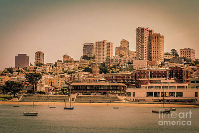 Ghirardelli Square Art Print by Claudia M Photography