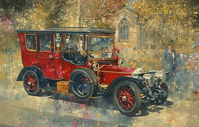 Occasion Painting - Ghost - Hawton by Peter Miller
