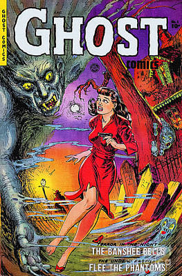 Painting - Ghost 1st Issue 1951 Vintage by Ian Gledhill