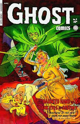 Painting - Ghost 3rd Issue 1952 Vintage by Ian Gledhill