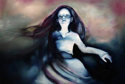 Cyanide Painting - Ghost by Barbara Agreste