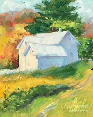 Painting - Ghost Barn by Lynne Schulte