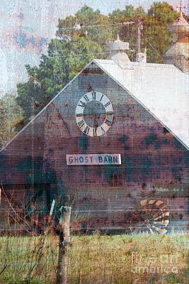 Mixed Media - Ghost Barn Texas #772 by Ella Kaye Dickey