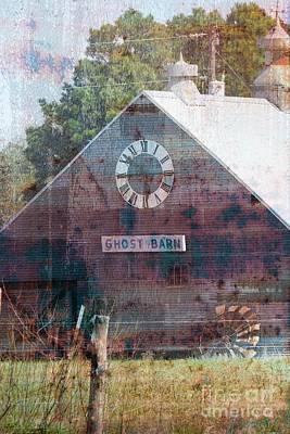 Mixed Media - Ghost Barn Texas #772 by Ella Kaye Dickey